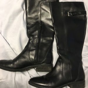Black Sam Edelman Patton Boots